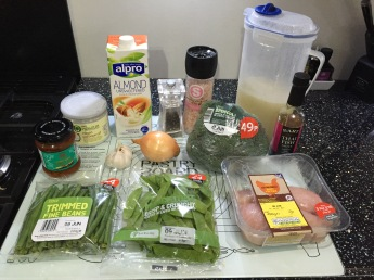 Thai Curry Ingredients