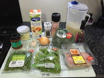 Thai Curry Ingredients